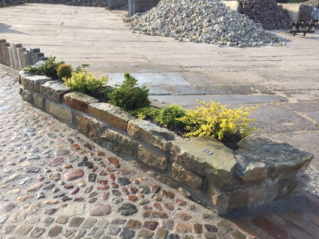 Mauersteine, Feldsteine | Kalksandstein, Granit