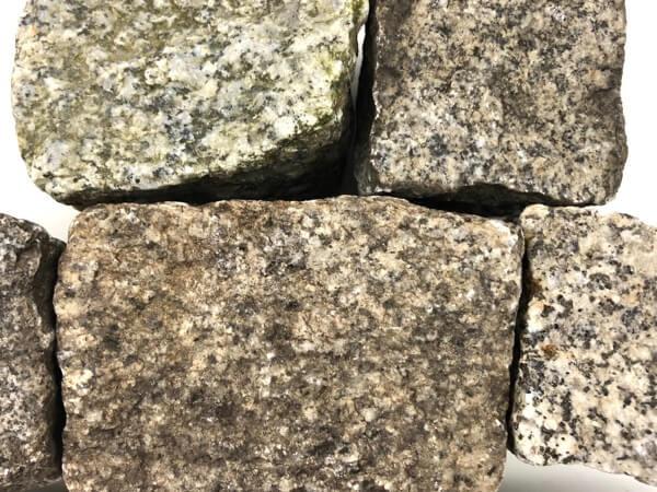 Gebrauchtes Granit Mosaikpflaster 4-6 cm reihenfähig