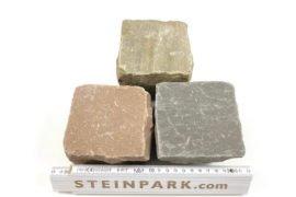 Neues Quarz-Sand Kleinpflaster 10x10x6-8 cm Reihenpflaster
