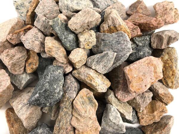 Granit Ziersplitt 16-32 mm herbstlaub