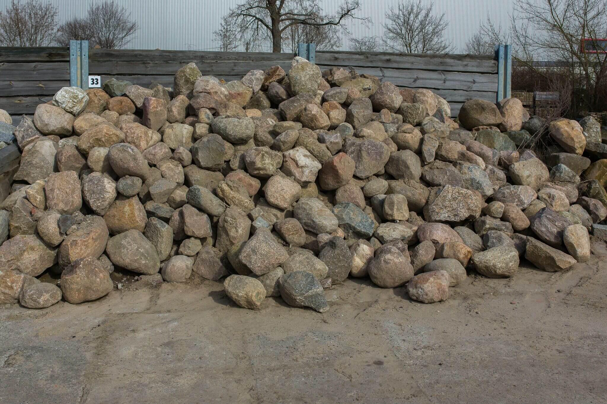 Granit Findlinge Box 33 1