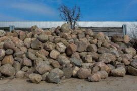 Granit Eiszeitfindling 40-120 cm natürlich gerundet