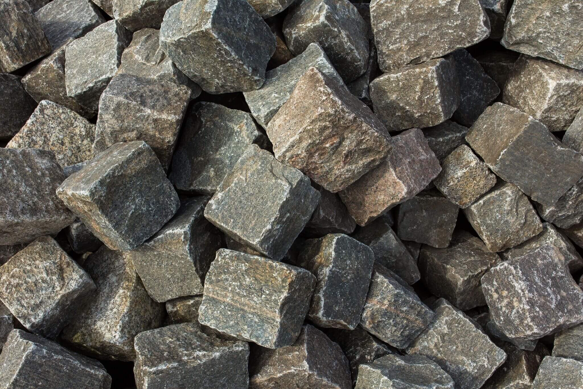 Granit-Gneis Großpflaster Box 8 cm bunt 2