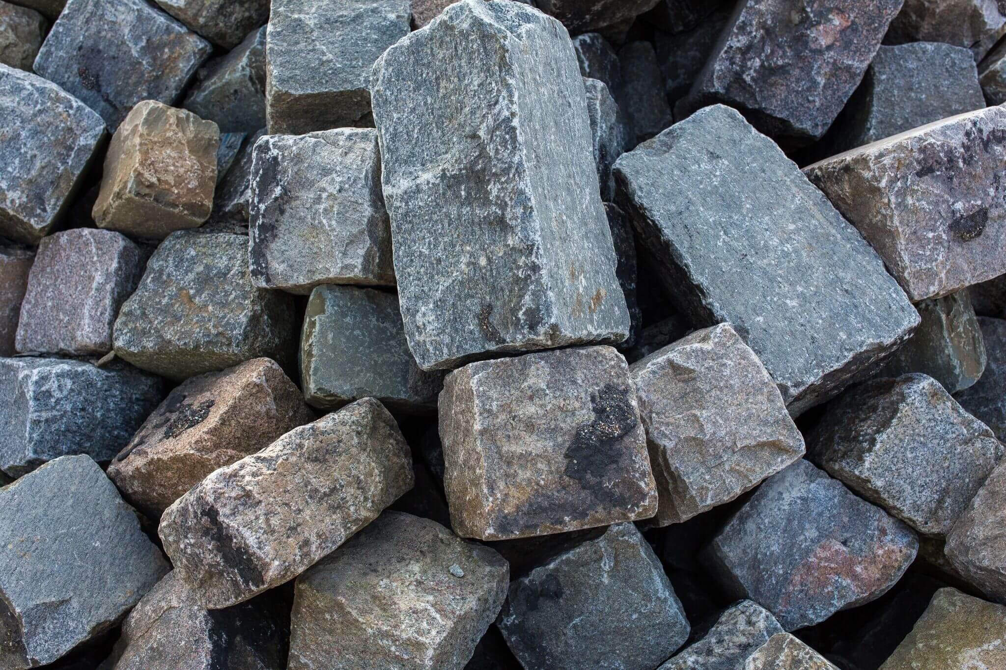 Granit Großpflaster 18-30 cm box 50 gebraucht 3