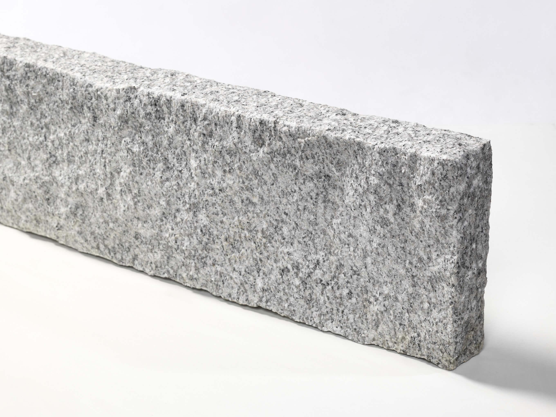 Granit Kantenstein hellgrau