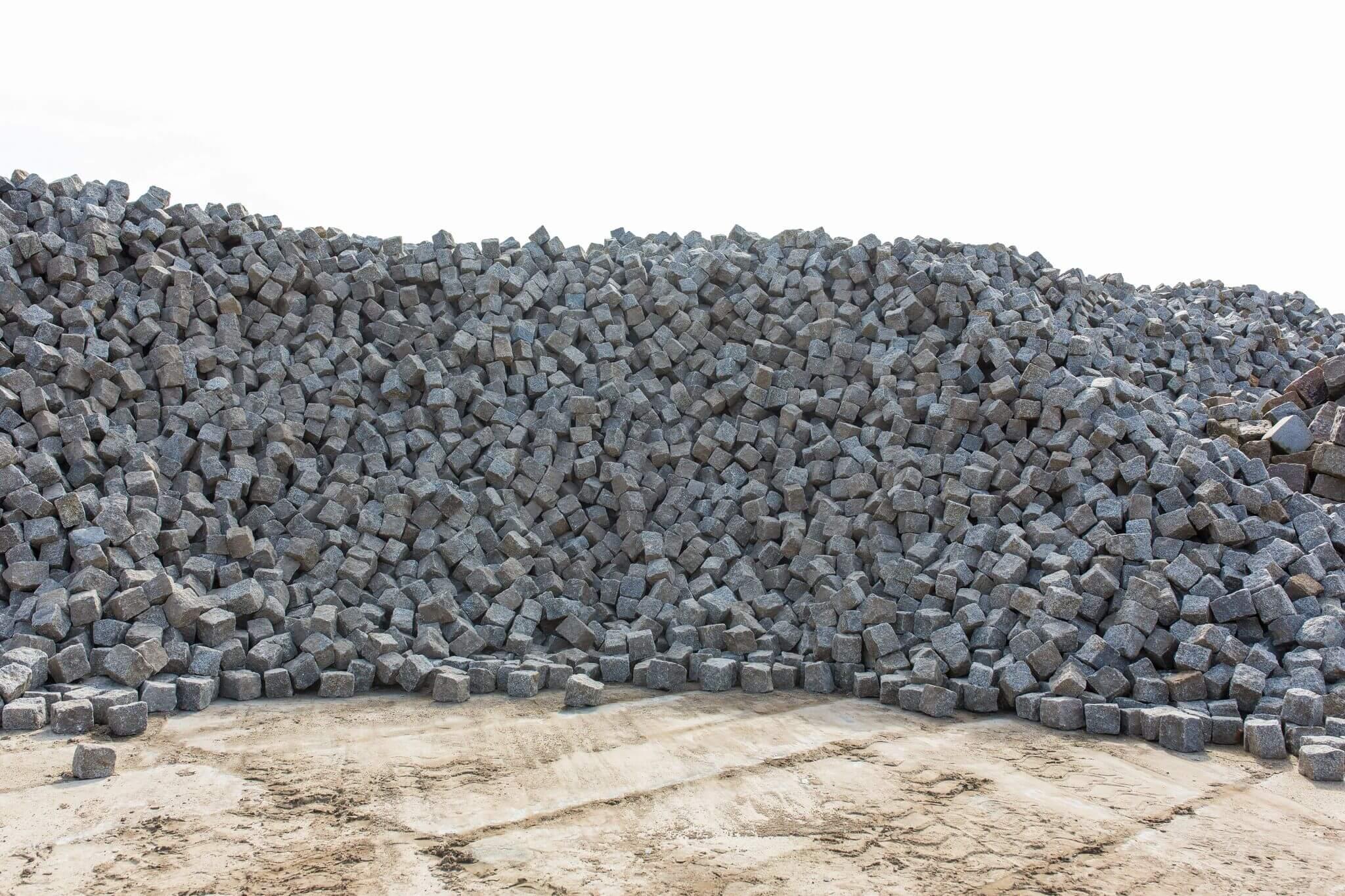 Granit Kleinsteinpflaster 8-11 cm box 60 gebraucht