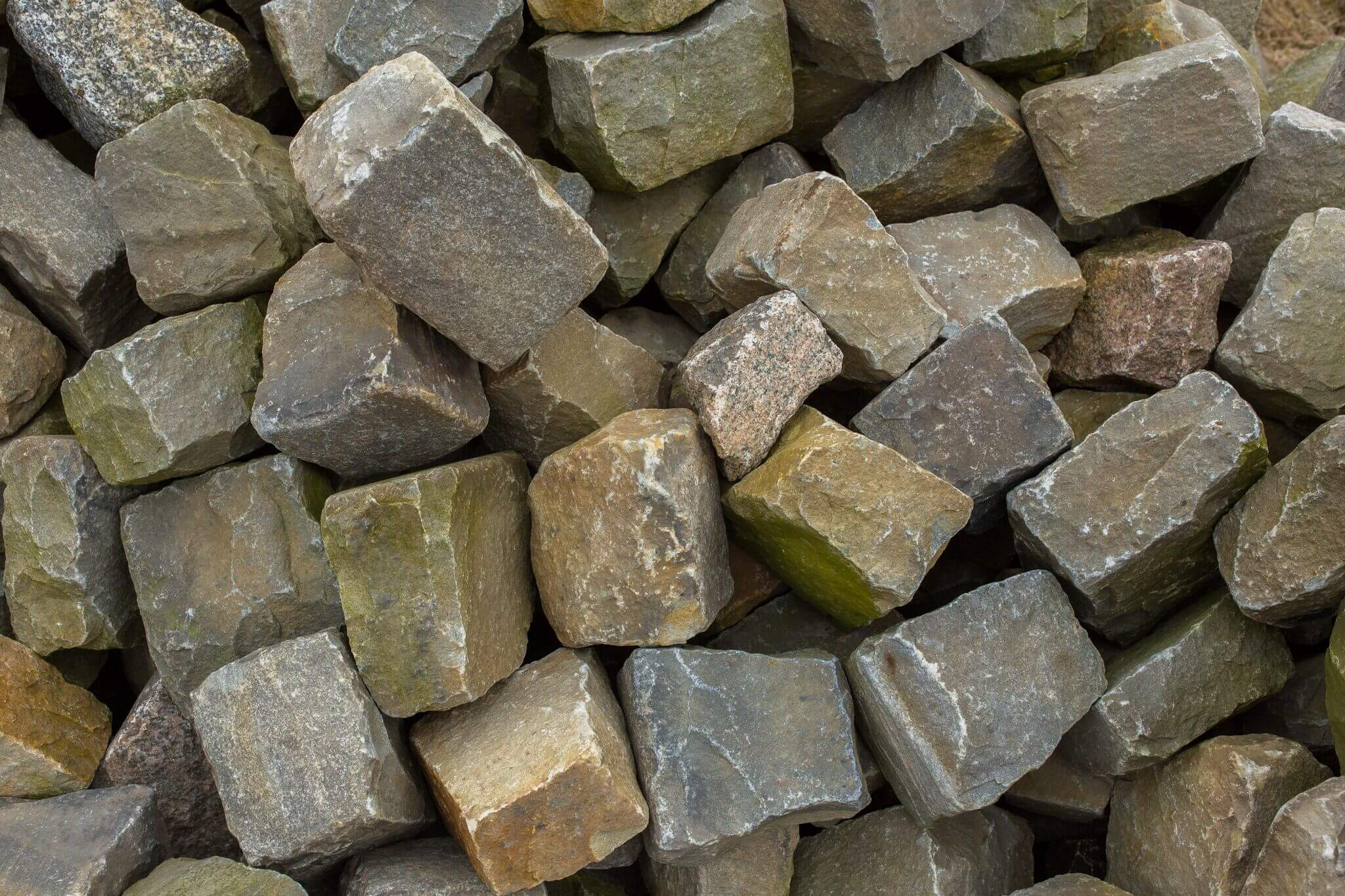 Kalkstein Großpflaster Box72 gebraucht 3