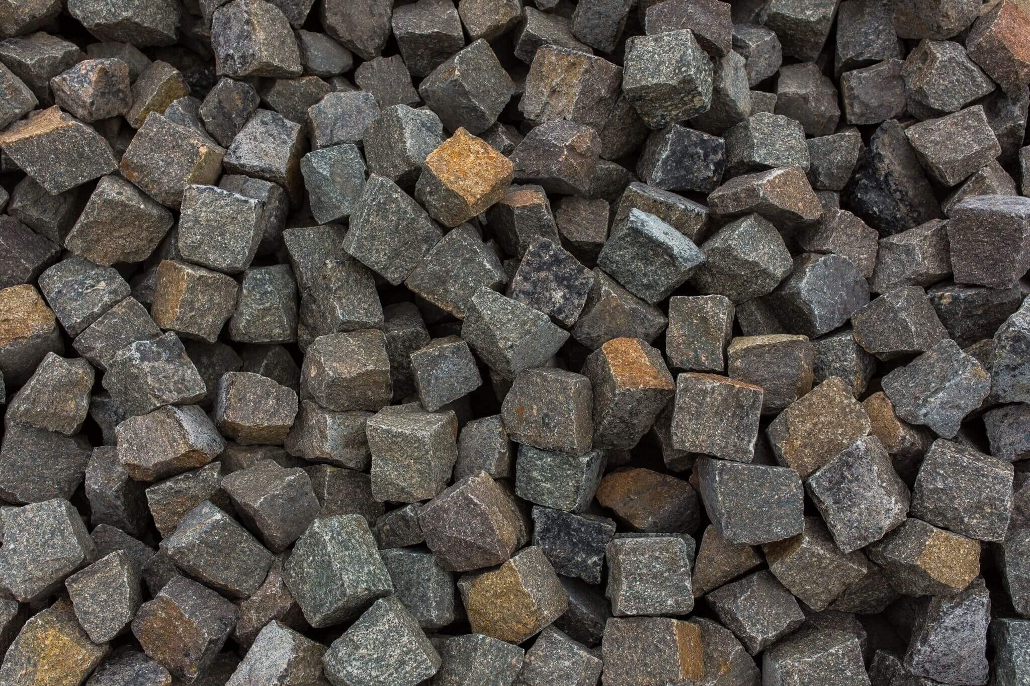 Porphyr Kleinpflaster 8-11 cm Box76 gebraucht 3