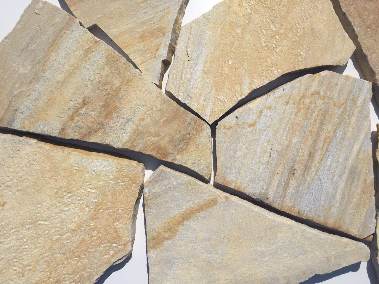Quarzit Polygonalplatte 2