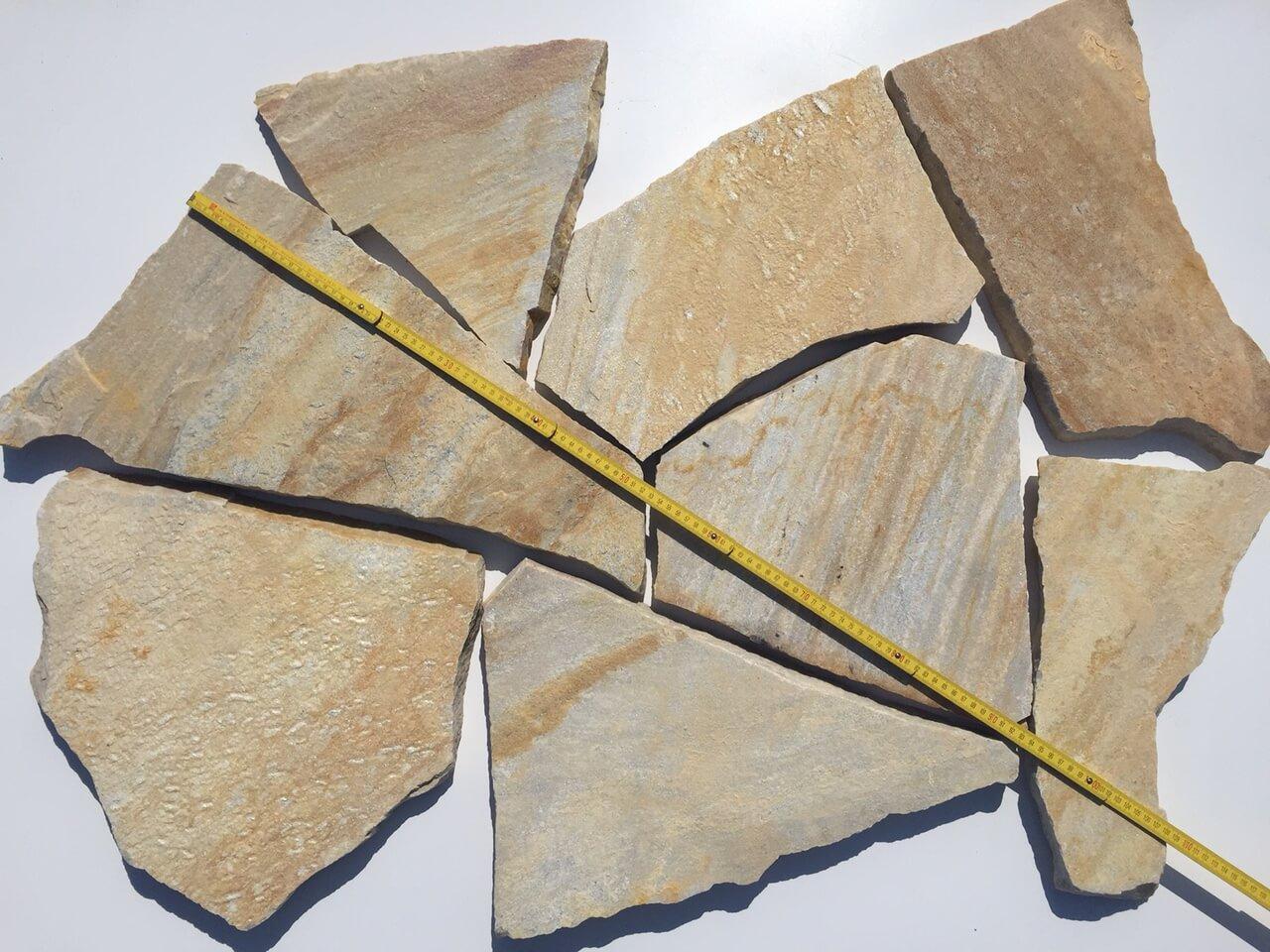 Quarzit Polygonalplatte 3