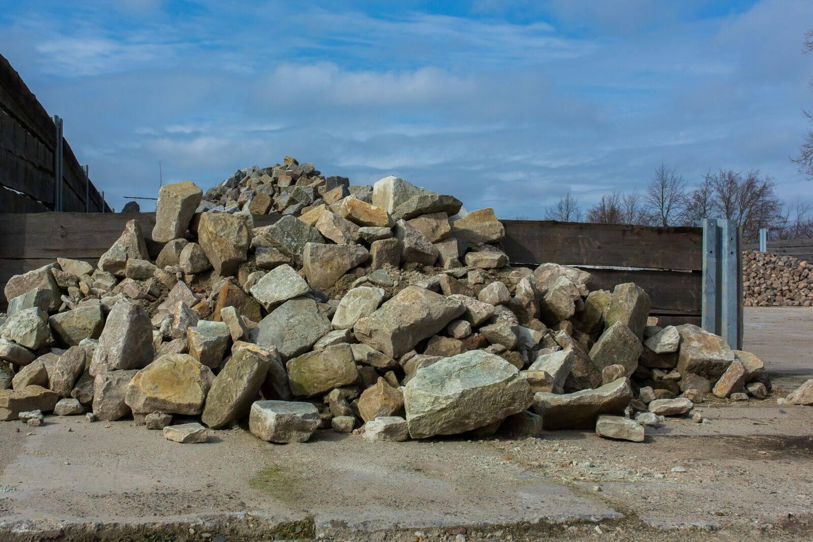 Sandstein Bruchmauersteine Box19 1