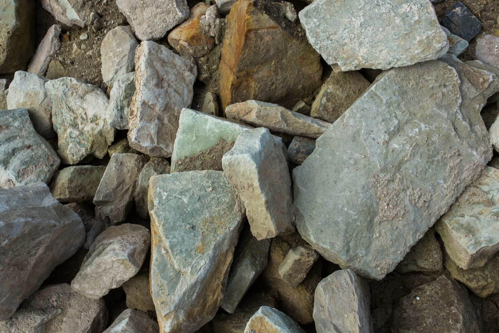 Sandstein Bruchmauersteine Box19 2