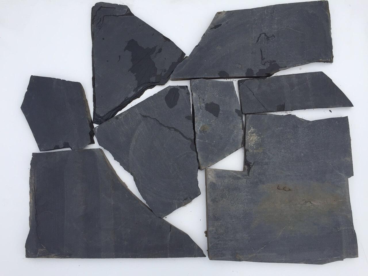 Schiefer Polygonalplatten anthrazit unregelmäßig gebrochen