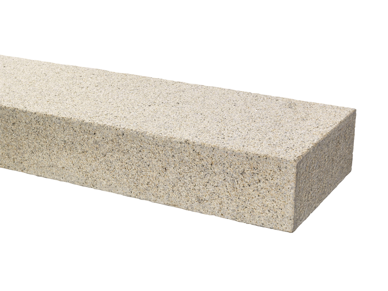 granit blockstufe 15x35x100 cm gelb grau. Black Bedroom Furniture Sets. Home Design Ideas