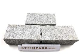 Granit Edelkleinpflaster 20x10x8 cm hellgrau