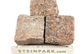 Neues Granit Kleinpflaster 8-11 cm regelmäßig B14b