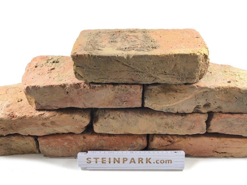 gebrauchte ziegelsteine im reichsformat bunt steinpark. Black Bedroom Furniture Sets. Home Design Ideas
