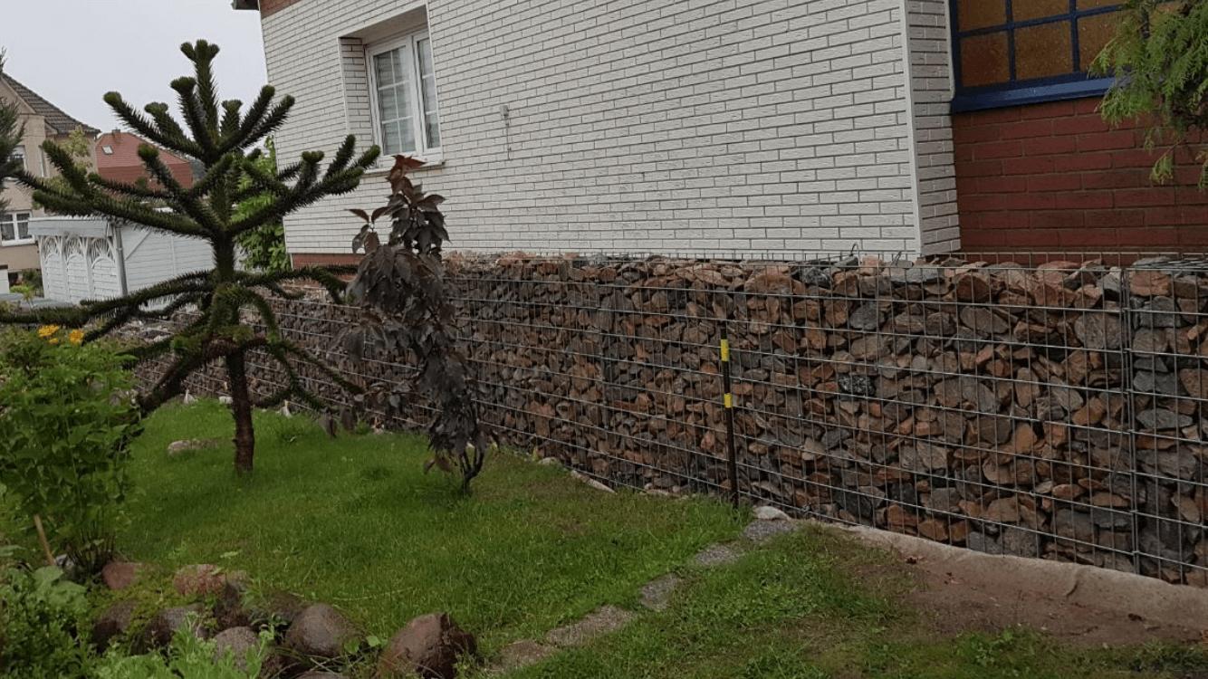 Granit Gabionenstein 60-120 mm herbstlaub 2