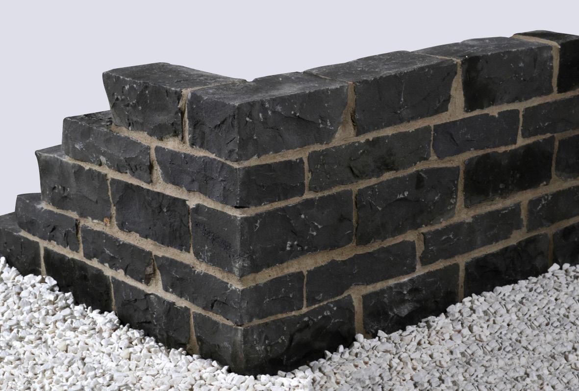 mauerstein basalt gespalten 1