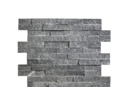 Quarzit Wandverblender Silver Grey 40x10x1-1,5 cm