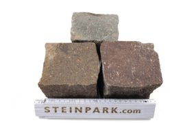 Neues Porphyr Kleinpflaster 8-10 cm regelmäßig
