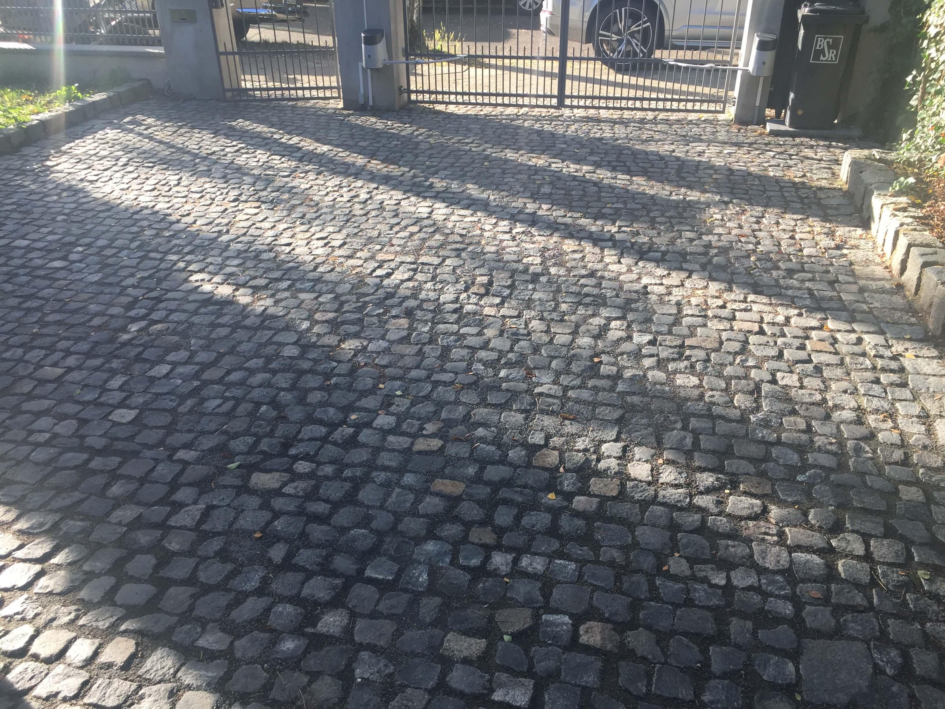 schwarzer granit kleinpflaster gebraucht