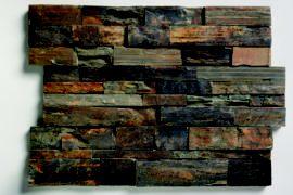 Schiefer Wandverblender Rust 61×15,2×2-4 cm