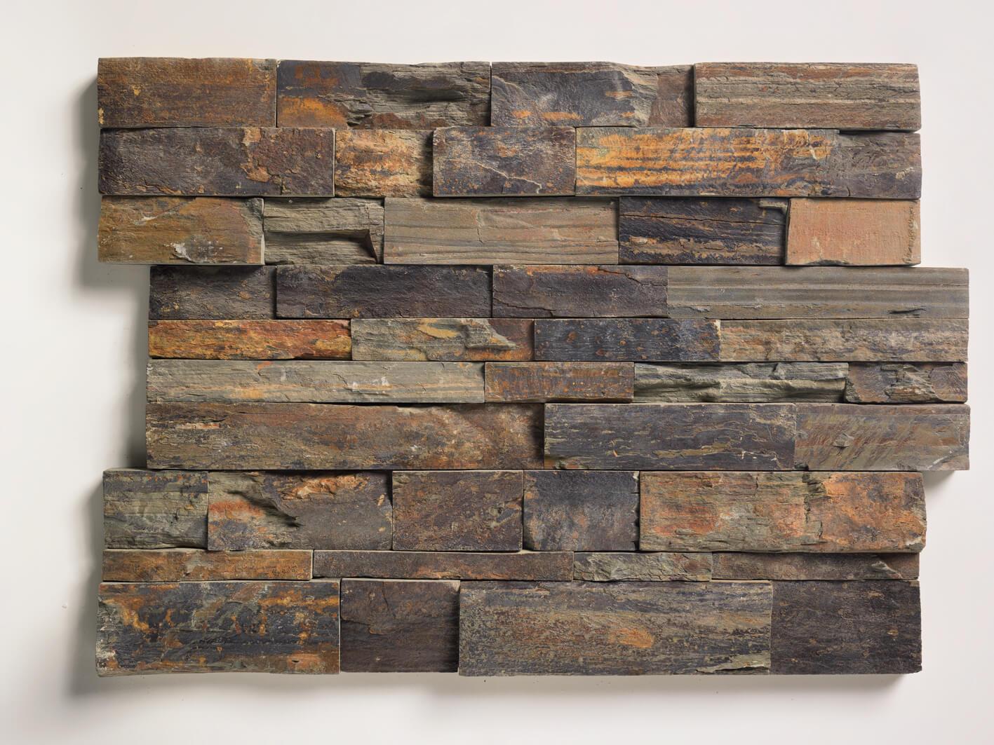 schiefer wandverblender rust 61x15 2x2 4 cm. Black Bedroom Furniture Sets. Home Design Ideas