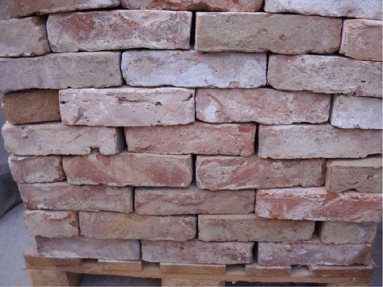 Ziegelsteine-Reichsformat -rötlich-1
