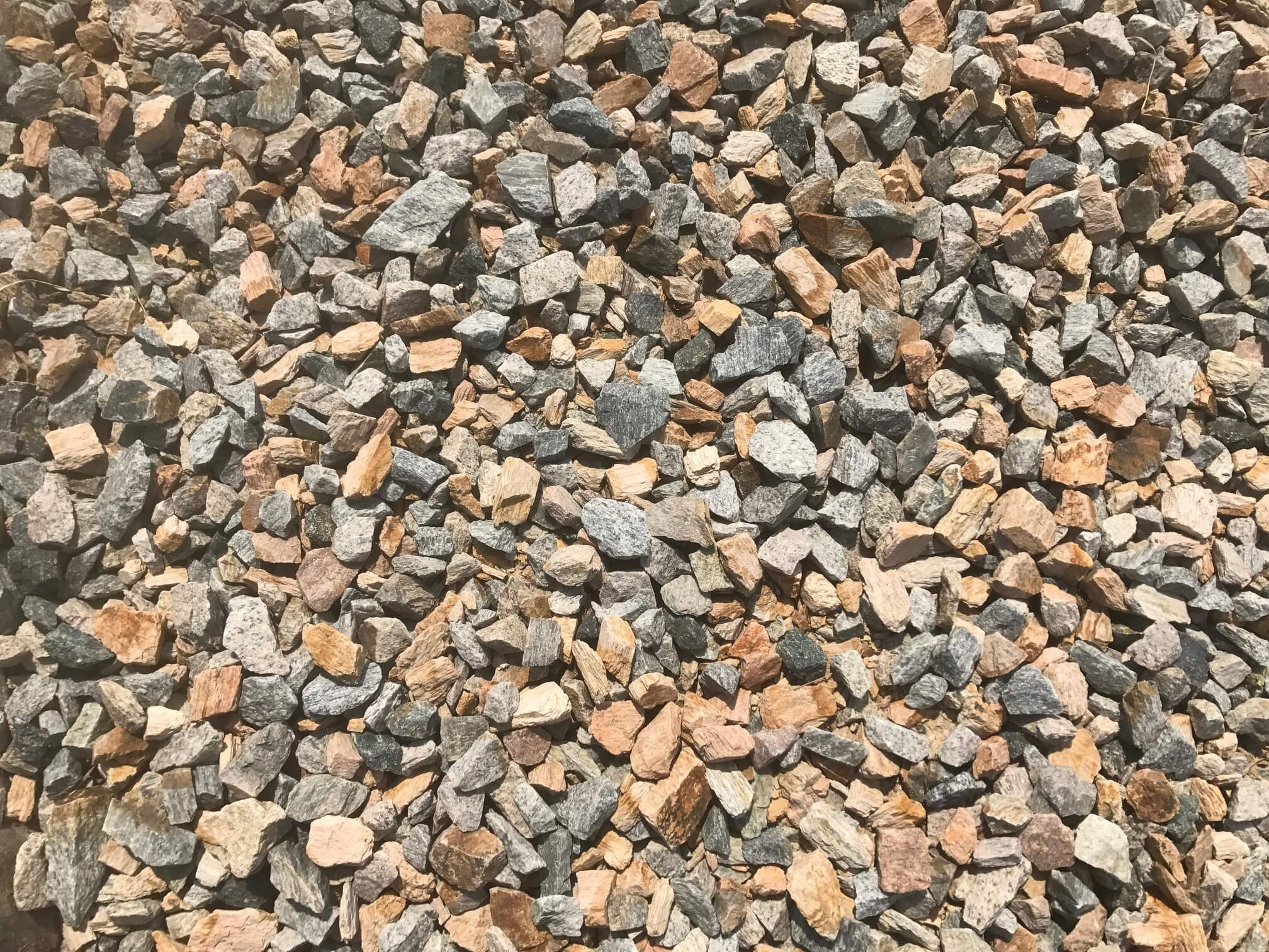 Ziersplitt Granit Herbstlaub bunt 16-32 mm
