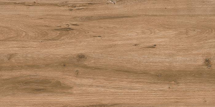 Keramik Terrassenplatte 46x91x2 cm Wooden Brown holz-braun
