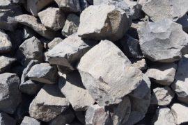 Basalt Böschungssteine 100-400 mm anthrazit-grau