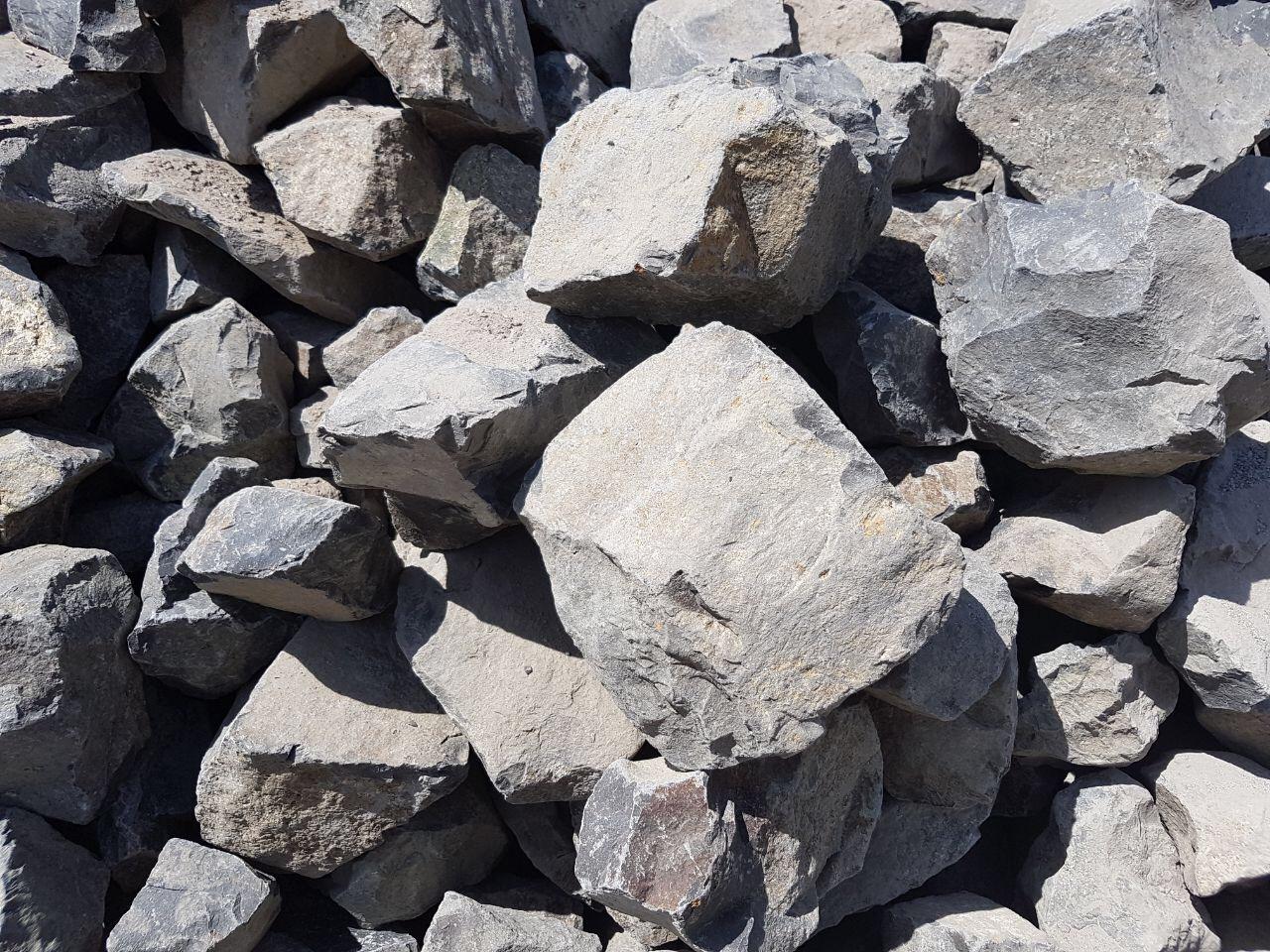 Basalt Böschungssteine 2