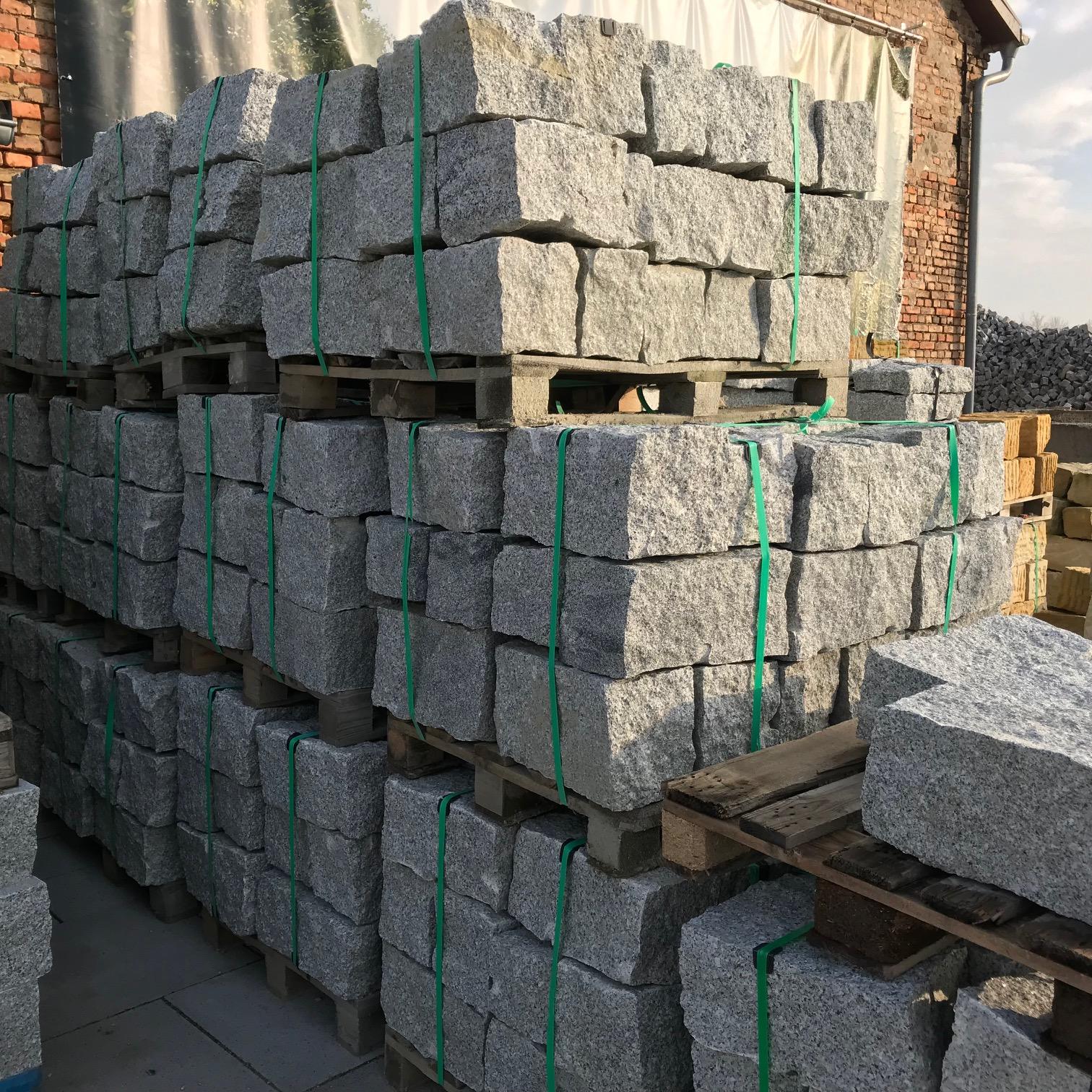 granit mauerstein 20x20x40 cm grau. Black Bedroom Furniture Sets. Home Design Ideas