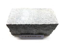 Granit Mauerstein 20x20x40 cm 2-seitig gesägt grau