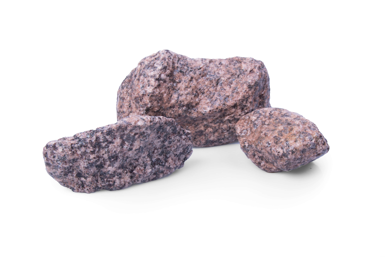 Granit Gabionenstein 45-125 mm rot