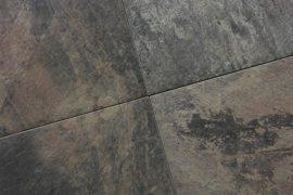 Keramik Terrassenplatte  60x60x2 cm Rusted Rock anthrazit-bunt