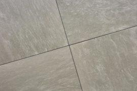Keramik Terrassenplatte 60x60x1,8 cm Pacific Slate Grigio grau