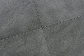 Keramik Terrassenplatte 45x90x2 cm Colorado Nero schwarz