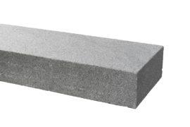 Granit Blockstufe 15x35x100 cm dunkelgrau