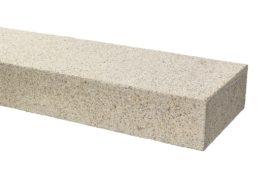 Granit Blockstufe 15x35x100 cm gelb-grau