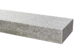 Granit Blockstufe 15x35x100 cm hellgrau