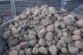 Granit Eiszeitfindling 20-50 cm natürlich gerundet
