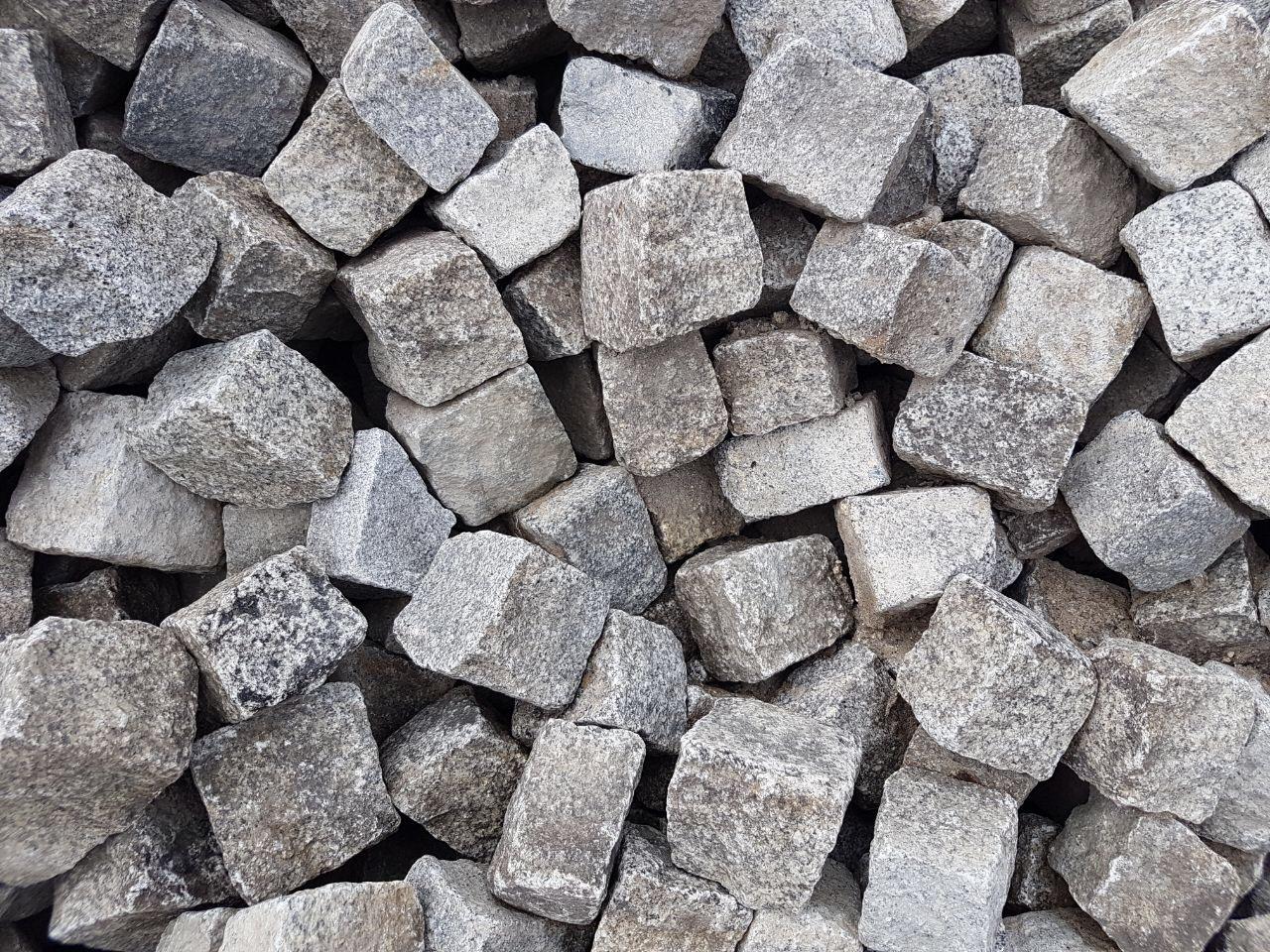 Granit Kleinpflaster gebraucht 8-11 cm Box 52 2