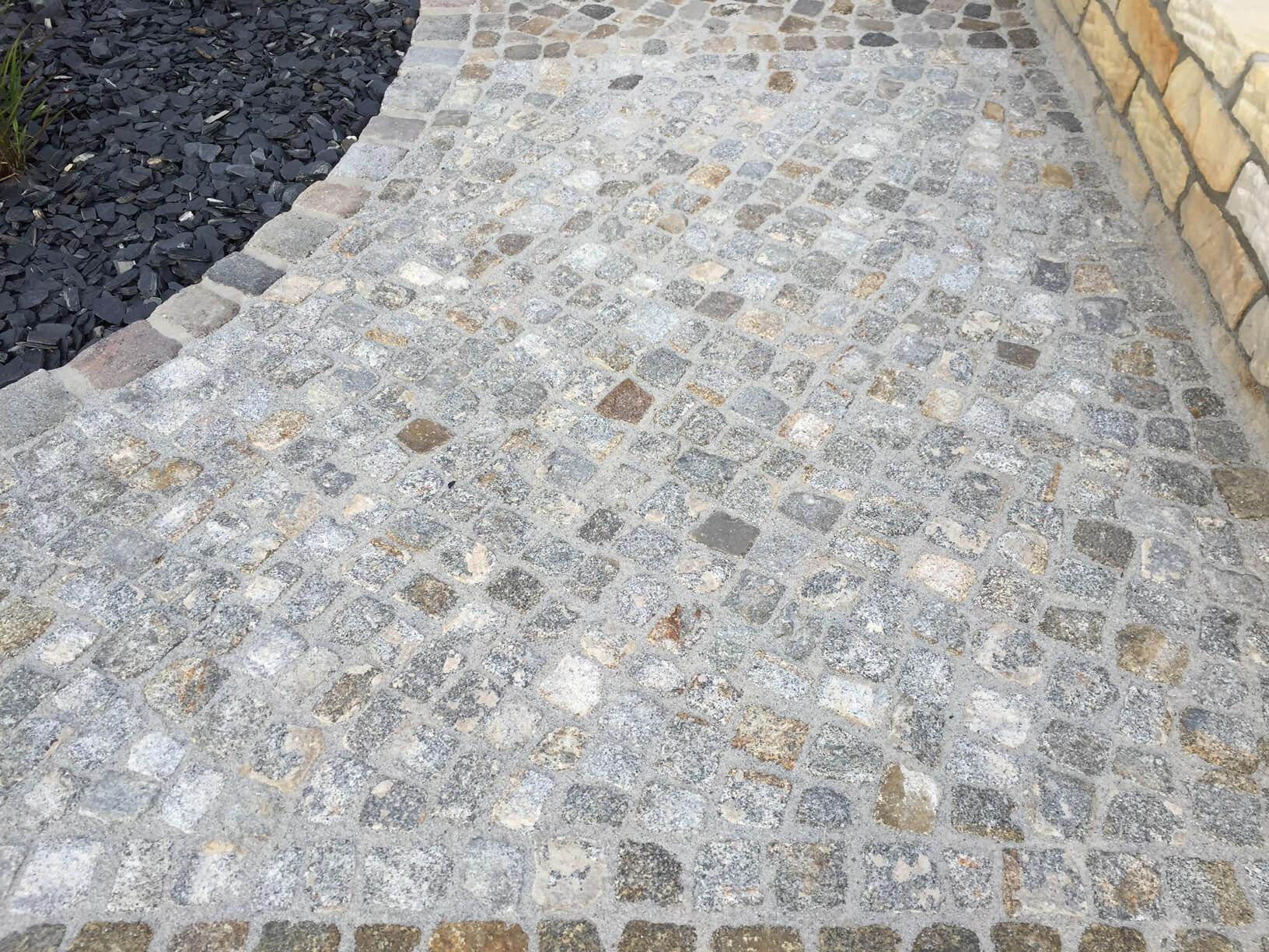 Granit Kleinpflaster gebraucht 8-11 cm Box 52 4