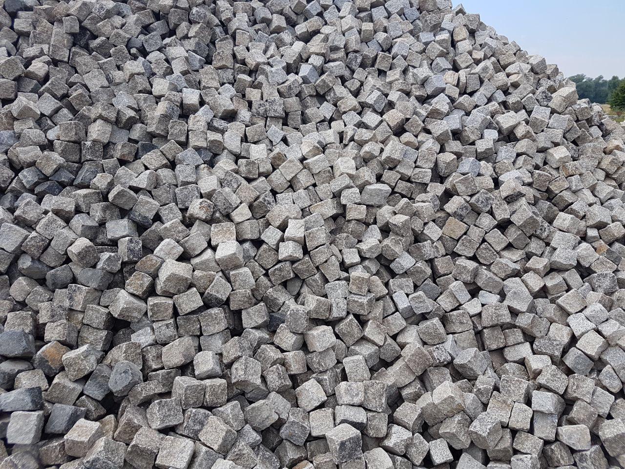 Granit Kleinpflaster gebraucht 8-11 cm Box 52
