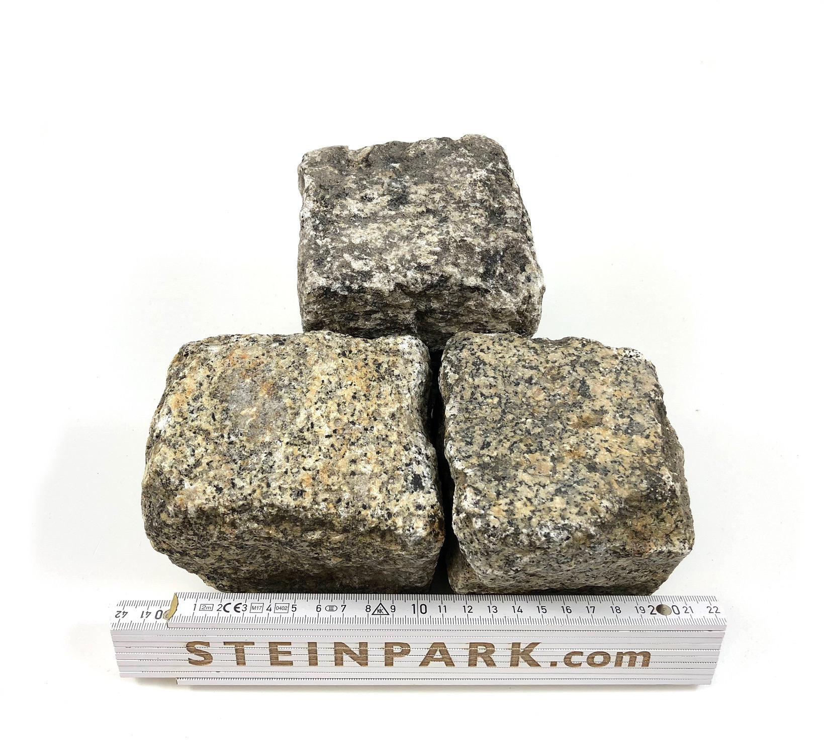 Gebrauchtes Granit Kleinpflaster 8-11 cm regelmäßig B14a