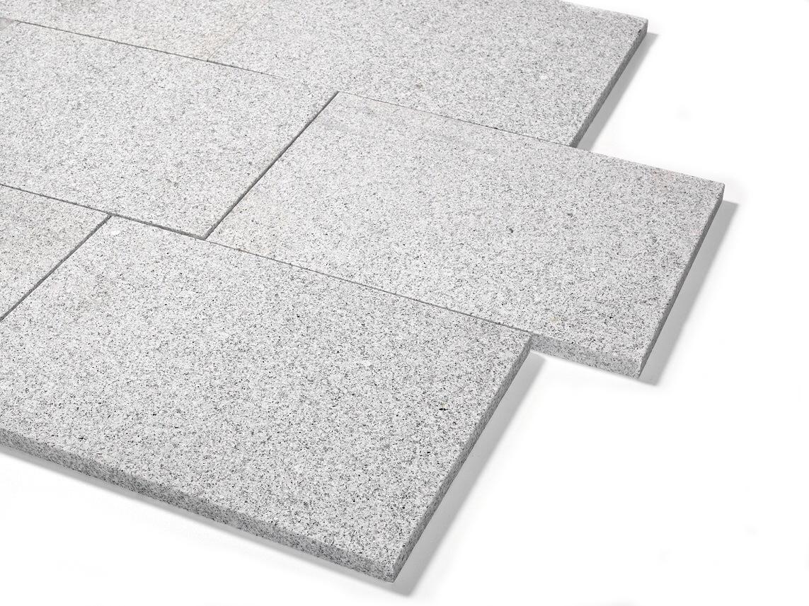 granit terrassenplatte 40x60x3 cm hellgrau. Black Bedroom Furniture Sets. Home Design Ideas