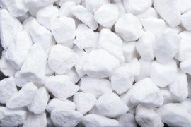 Ziersplitt Marmor 16-25 mm weiß