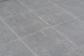 Keramik Terrassenplatte 60x60x2 cm Canadian Rock braun